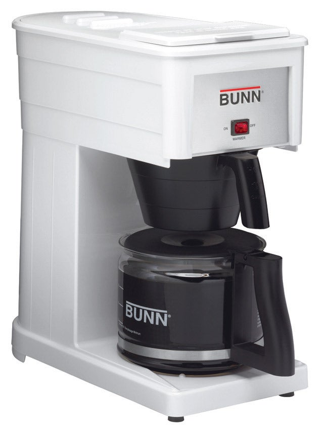 Bunn Coffee Maker Grx B : Bunn 10-cup White Professional Coffee Maker GRX-W 72504077802 eBay