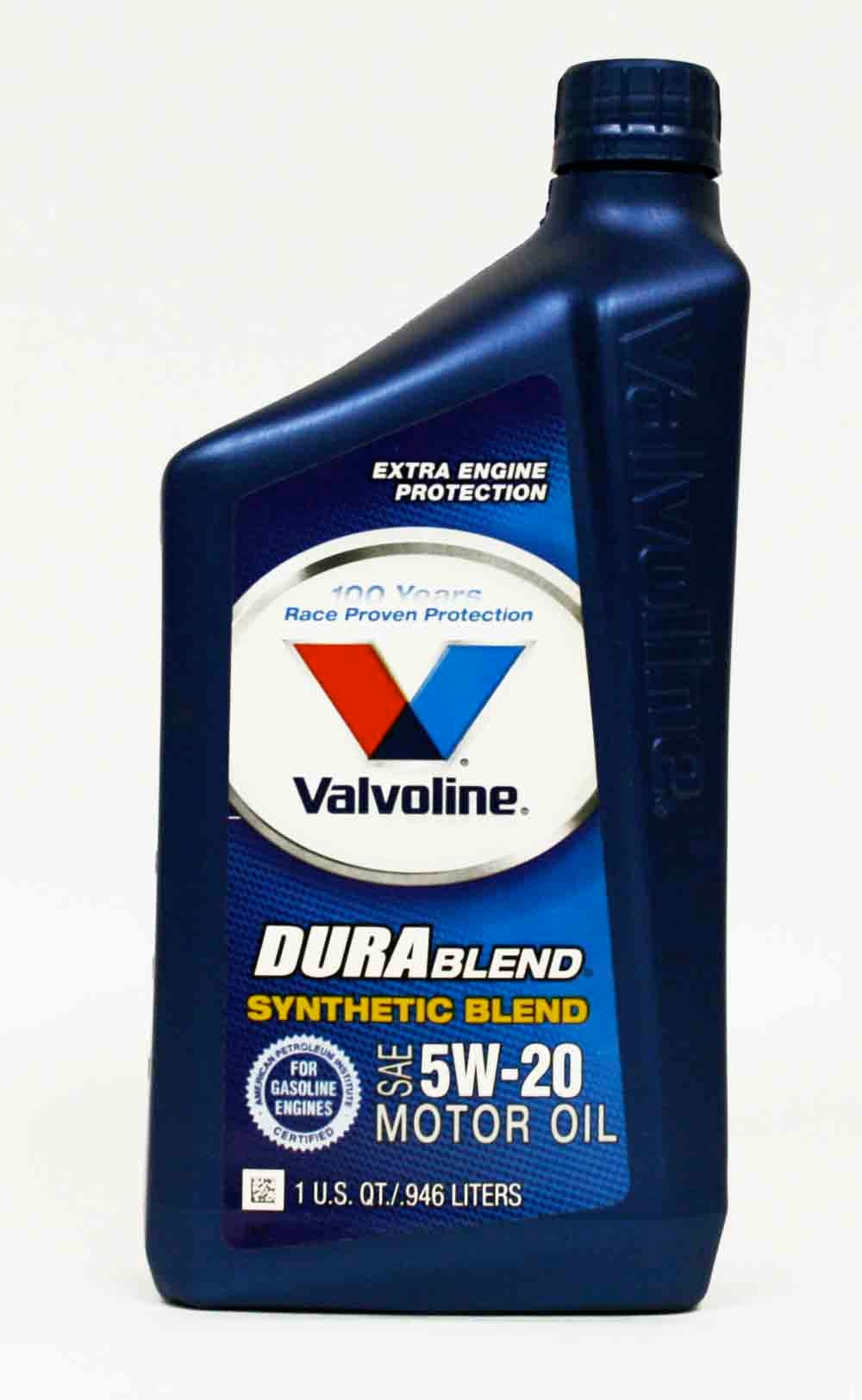 Description. Enhance the life of your engine with this Valvoline(TM) 5W Premium Conventional Motor Oil. This conventional motor oil helps to protect against sludge and deposit formations for a clean, efficient engine.