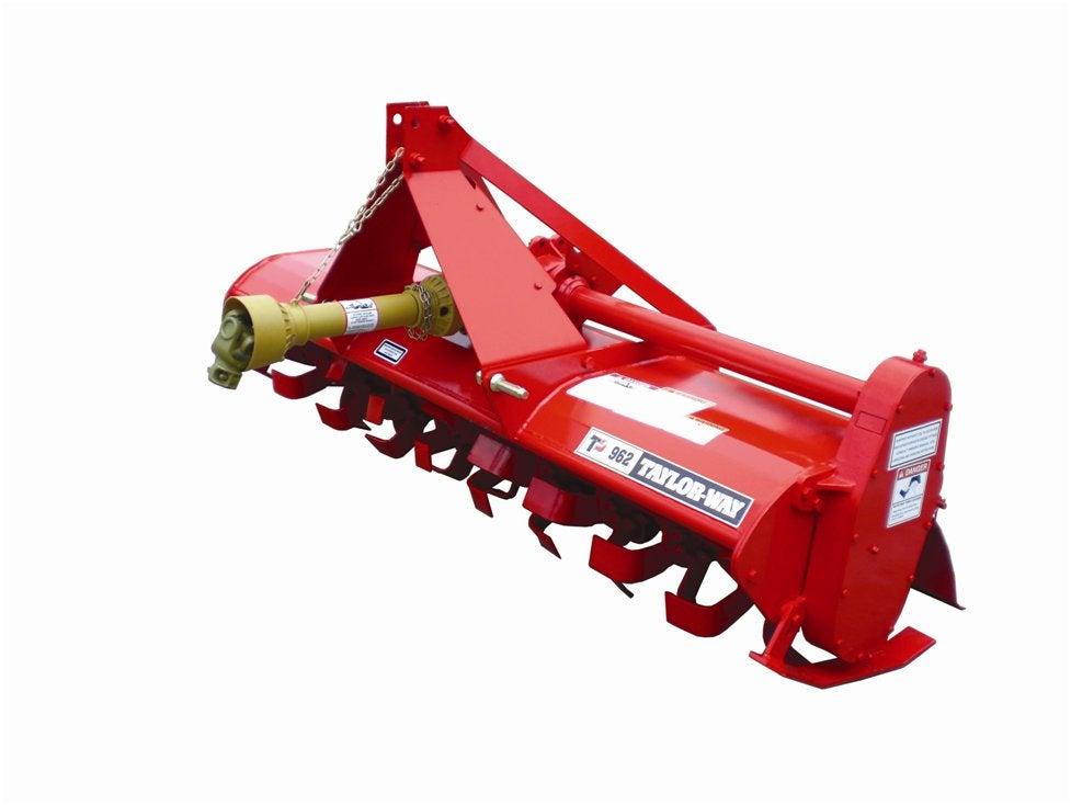 5 Rotary Tiller : Taylor pittsburgh way gear driven rotary tiller