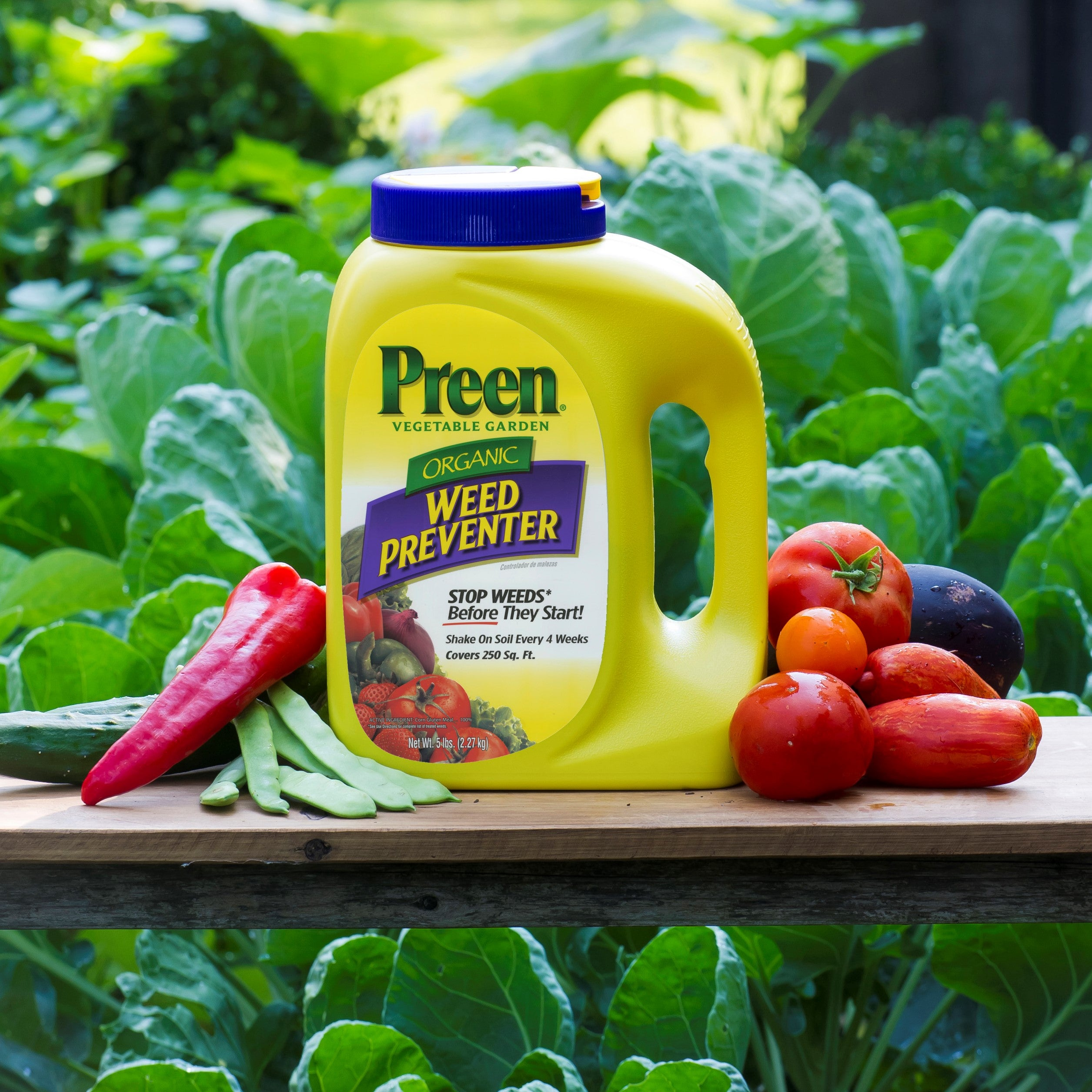 Preen vegetable garden weed preventer 5 lb ebay for How to use preen in vegetable garden