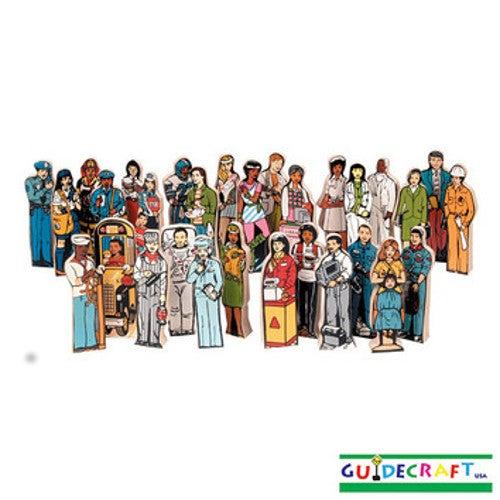 Guidecraft Career Set (Set of 30) G166