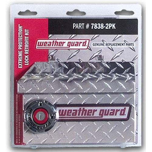 Weather Guard Retro Fit Kit Dual Locks 7838-2PK