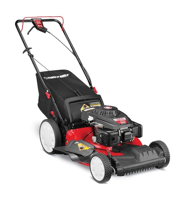 Troy Bilt 159cc 3 In 1 High Wheel 21 Quot Deck Push Mower 12a
