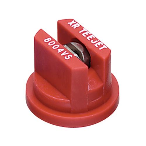 FIMCO XR TeeJet 80 Degree Extended Range Spray Tip - Red (XR8004VS) 4 Pack