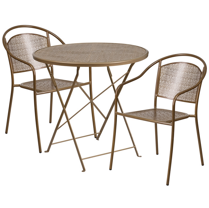 Flash Furniture 30 Rd In Outdoor Steel Folding Table Set  : 2016 11 2208h5446 from www.ebay.com size 727 x 725 png 422kB