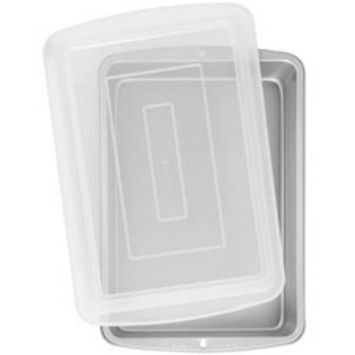 "Wilton Recipe Right 13"" x 9"" Cake Pan with Lid 2105-962 | eBay"