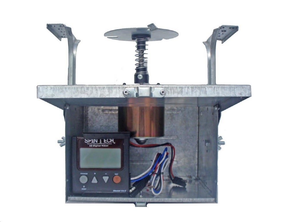 Spintech deer feeder motor unit 12 volt ez digital for 12 volt door latch