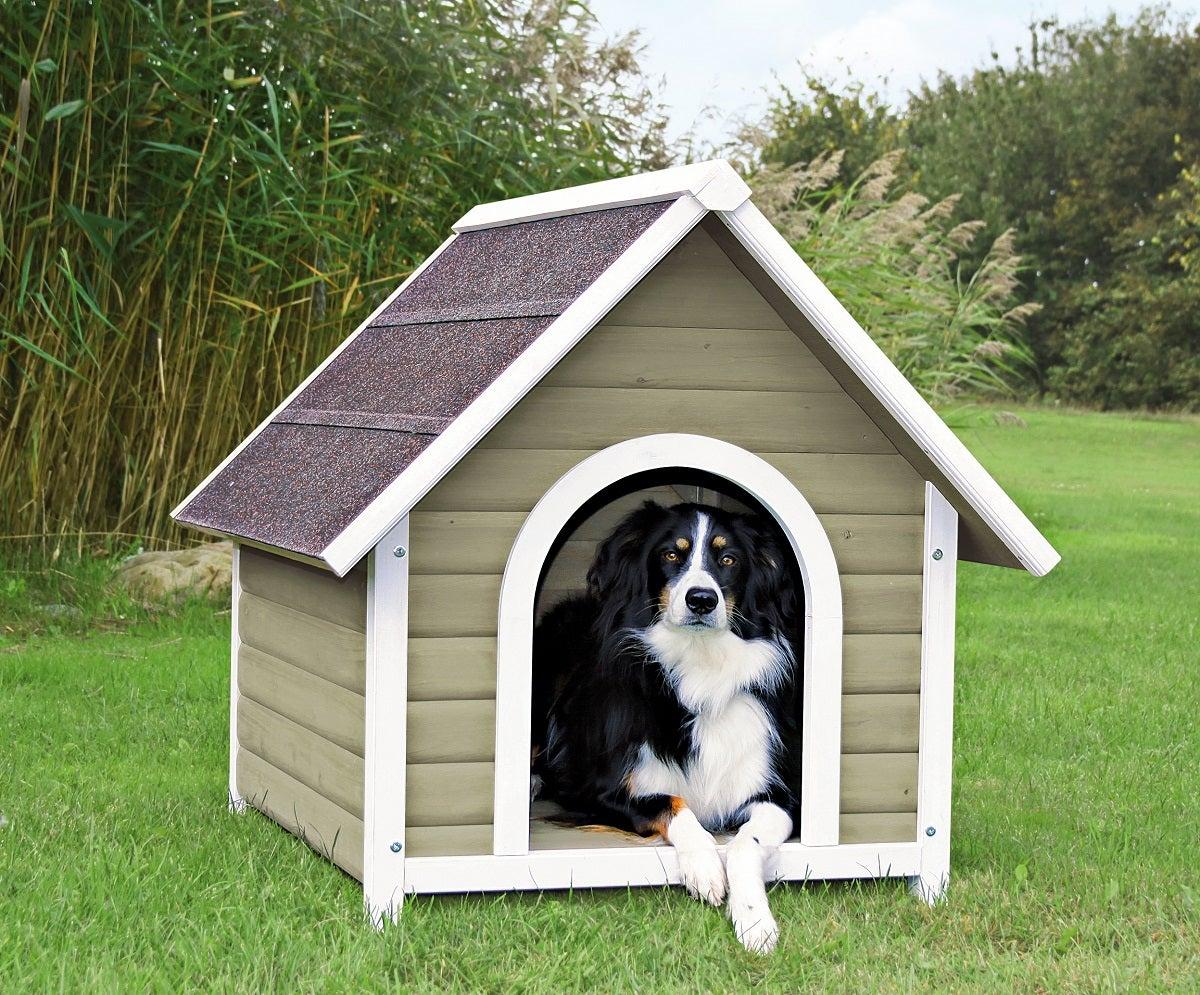 Trixie pet nantucket dog house medium 39471 ebay for Dog houses for medium dogs