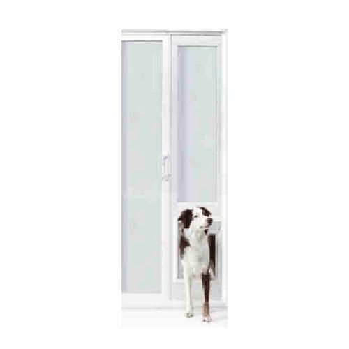 Ideal pet products 78 vip vinyl insulated pet patio door for Ideal dog door