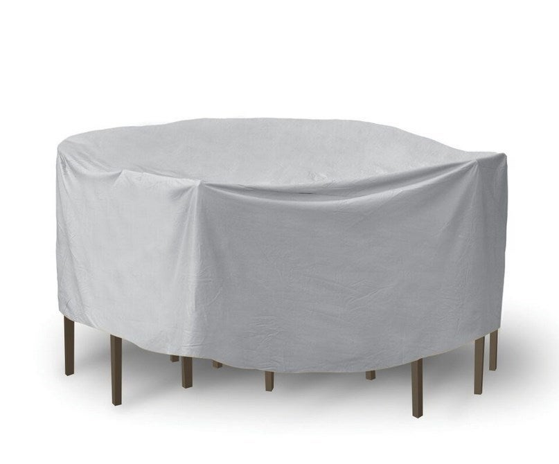 PCI Protective Covers by ADCO Oval Rectangular Bar Table and Chairs Patio Cover