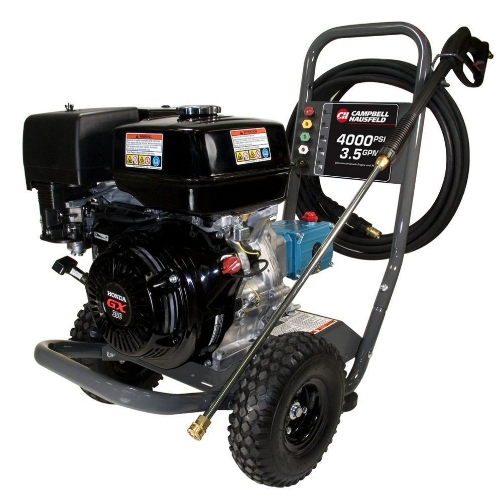 Campbell Hausfeld 4000 Psi Gas Pressure Washer Pw4070