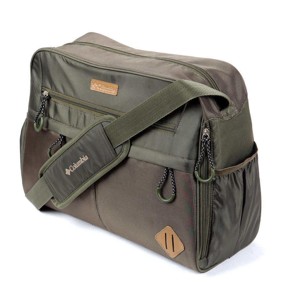columbia expedition ridge duffel diaper bag green 92162770674 ebay. Black Bedroom Furniture Sets. Home Design Ideas