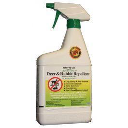 Liquid Fence Deer And Rabbit Repellent Quart Rtu