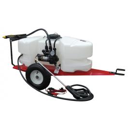 Fimco 25 Gallon Lon Lawn And Garden Trailer Sprayer Lg