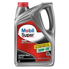 Mobil Super 10W-30 Motor Oil - 5 Quart - 120754