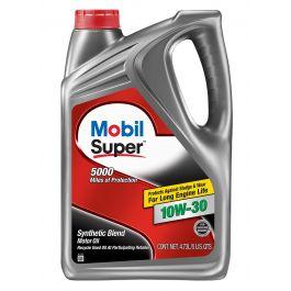 Mobil Super 10W-30 Motor Oil - 5 Quart - 120754