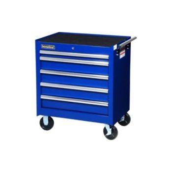 International 27 5 Drawer Roll Away Tool Cabinet Blue Vrb 2705bu