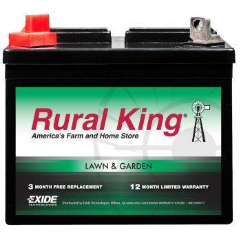 Rural King Lawn & Garden Battery U1L-LT