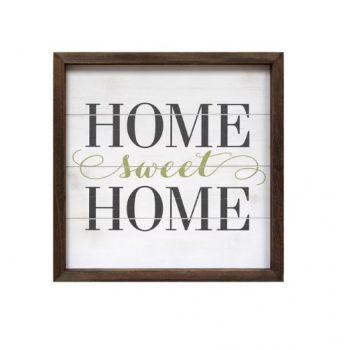 Stratton Home Décor Home Sweet Home Wall Art (SHD0260)