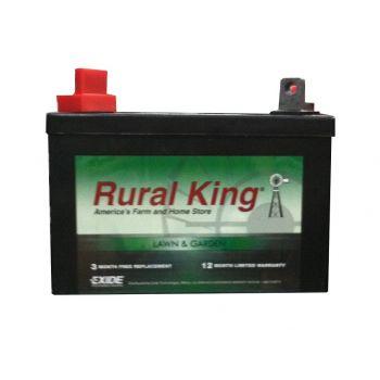 rural king lawn garden battery u1l ct - Garden Tractor Battery