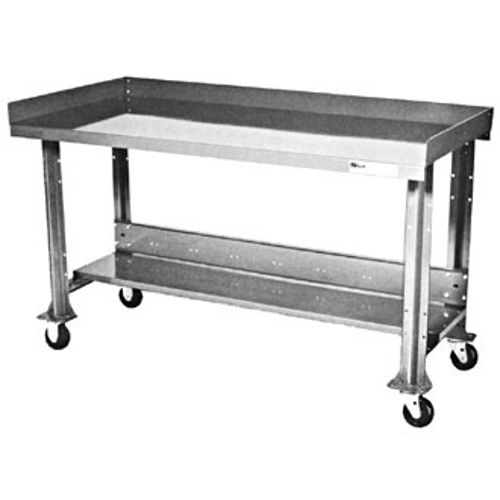 Fine Shure Portable Painted Steel Top Workbench With Accessory 60 Inch X 34 Inch Kit 811066 Pabps2019 Chair Design Images Pabps2019Com
