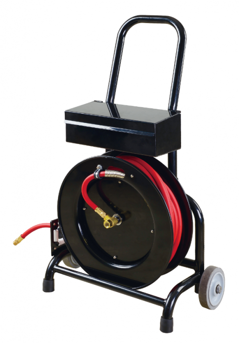 Shop Tuff Hose Reel Cart With Rubber Hose Stf3850rhtb