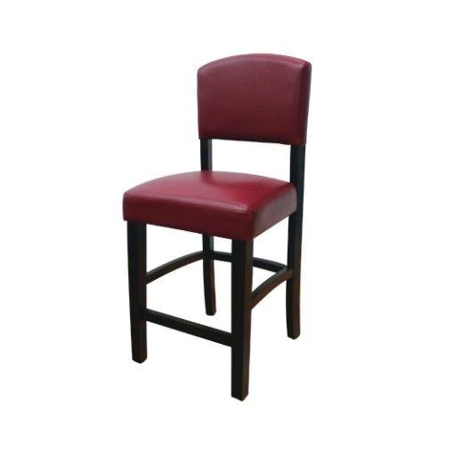 Fabulous Linon Monaco Bar Stool 30 Dark Red 753793910437 Machost Co Dining Chair Design Ideas Machostcouk