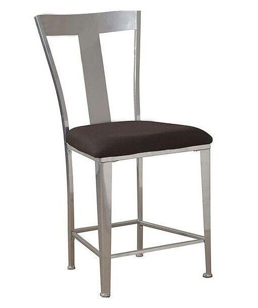 Cool Powell Big Tall Metal Contemporary Bar Stool 14B8046Bs Machost Co Dining Chair Design Ideas Machostcouk