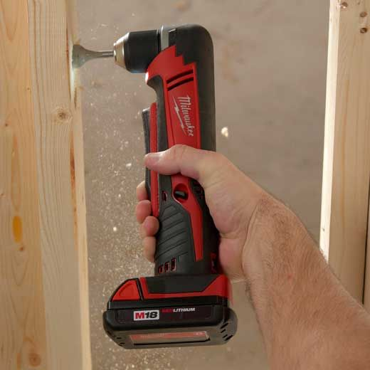 Milwaukee 2615-20 M18 18-Volt 3//8 in Tool-Only Cordless Right-Angle Drill