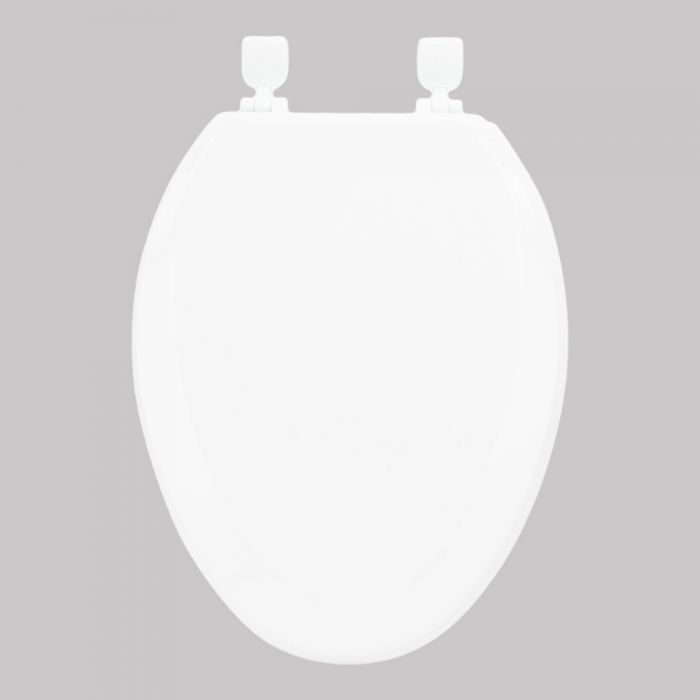 Cool Exquisite Toilet Seat Elongated Beveled Edge Molded Wood With Lift Off Hinges White Finish 050 2044Wt Cjindustries Chair Design For Home Cjindustriesco