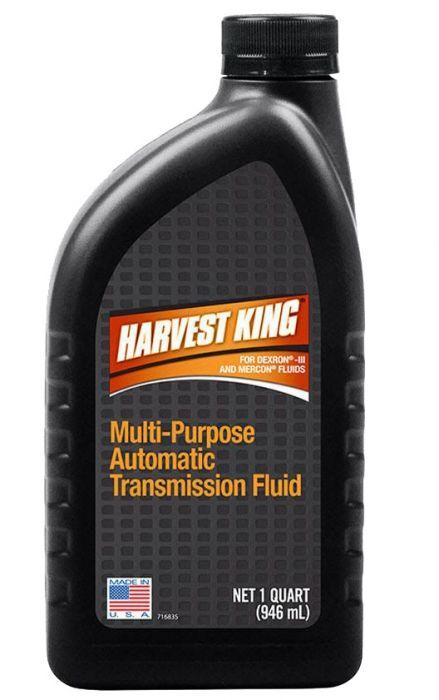Automatic Transmission Fluid >> Harvest King 1 Quart Multi Purpose Automatic Transmission Fluid