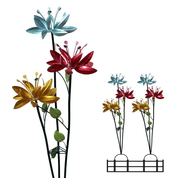 Alpine Blossoming Lily Fl Trio
