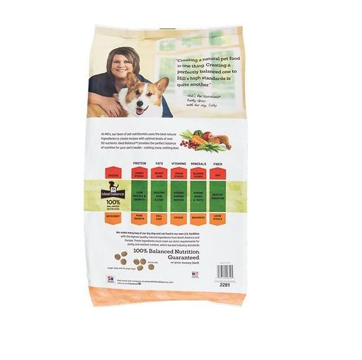 Ideal Balance Dog Food >> Hill S Ideal Balance Adult Large Breed Natural Chicken Brown Rice Recipe Dry Dog Food 30 Lb 2281