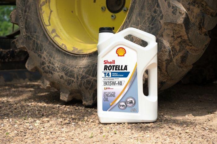 Shell Rotella T4 >> Shell Rotella T4 15w 40 Motor Oil 1 Gallon 10006400