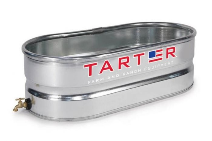 Tarter Galvanized Water Tank 2 X1 X4 With Spigot Wt214s