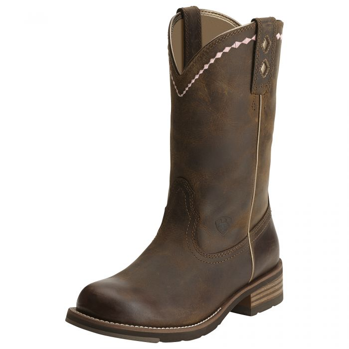 Ariat Women S Unbridled Roper Distressed Brown 10015374