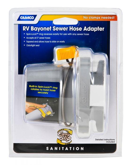 Motor Home Easy Slip Rv Sewer Hose Adapter Camco Mfg Inc Rv 39173 Ushirika Coop