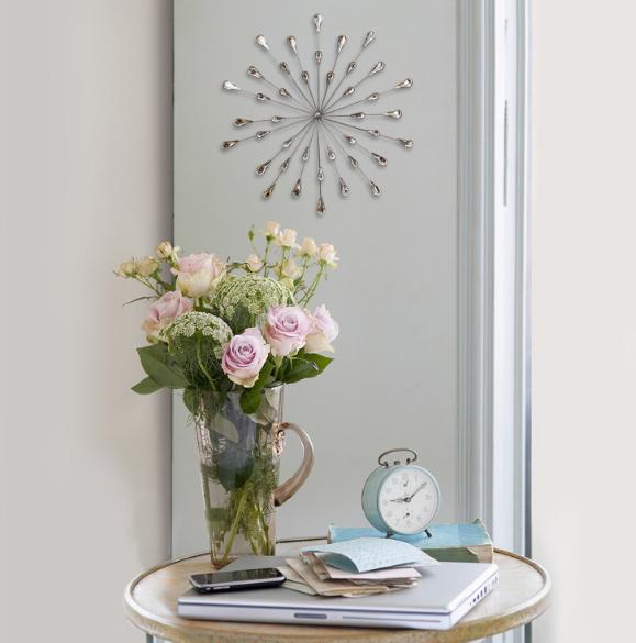 Stratton Home Décor Acrylic Bling Burst Wall S03042