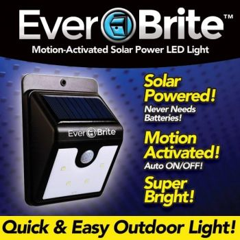 98a994876f84 Everbrite 4 LED Light Motion Activated - 2 Pack - BRITE2-MO48