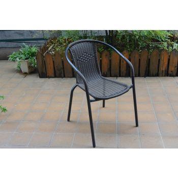 Wicker Barrel Chair RY 168