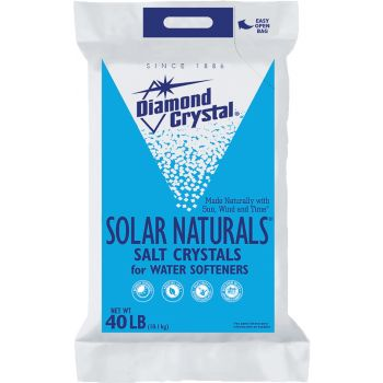 Diamond Crystal 40 Lb Solar Naturals Salt Crystals For Water Sofooteners 100012411