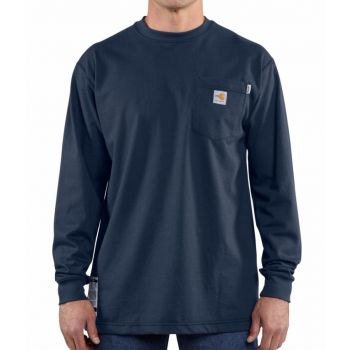 Carhartt Force Men S Flame Resistant Cotton Long Sleeve T Shirt 100235