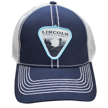 Lincoln Outfitters Triangle Dusk Patch Navy Cap LOCAP-100 b7f5d876999
