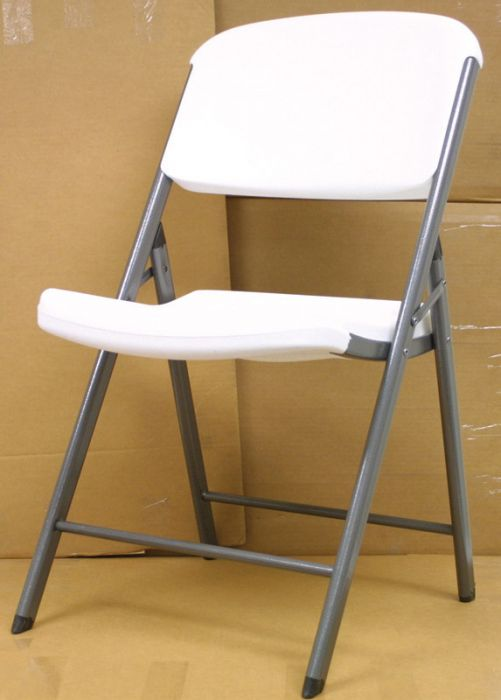 Skip to the beginning of the images gallery & Lifetime Folding Utility Chair 2802