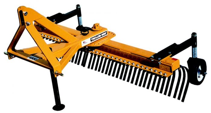 taylor pittsburgh taylor way 7 4500 series landscape rake with