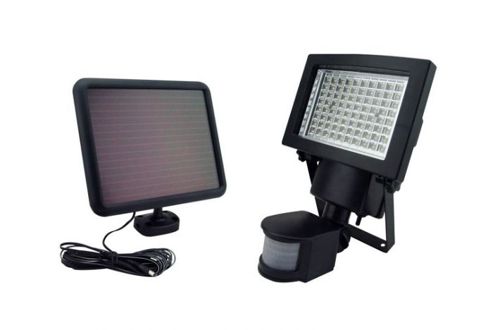 Sontax outdoor solar powered 80 led motion light security flood lamp sontax outdoor solar powered 80 led motion light security flood lamp 69008 aloadofball Images