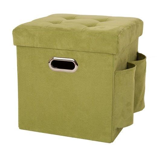 sc 1 st  Rural King & Green Folding Storage Ottoman 1504003772