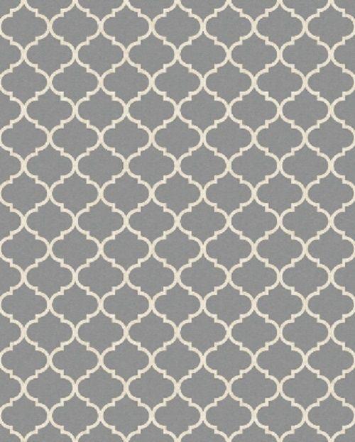 ruggables 8 x 10 moroccan trellis grey indooroutdoor washable area rug 158666 - Washable Area Rugs