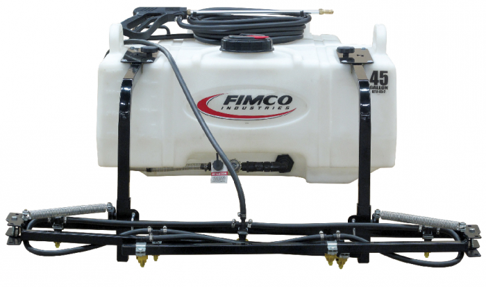 FIMCO 45 Gallon Lawn & Garden UTV Sprayer w/7-Nozzle Boom UTV-45-7 on