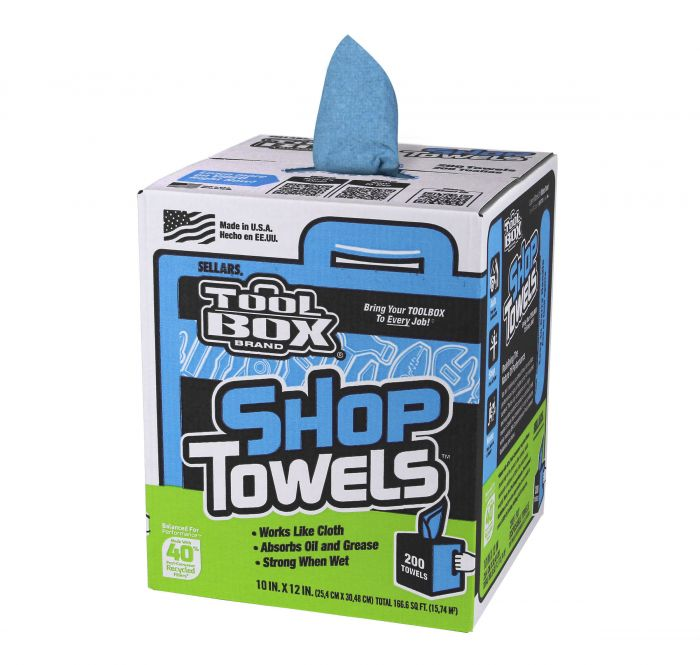 tool box white rags 200 count 5820201 - Box Of Rags